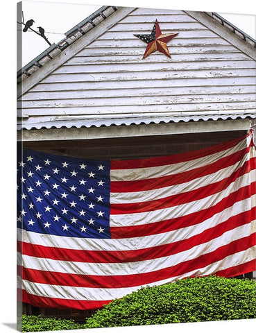 Old Glory Home Canvas