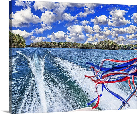 Gotta Love Boating! Canvas