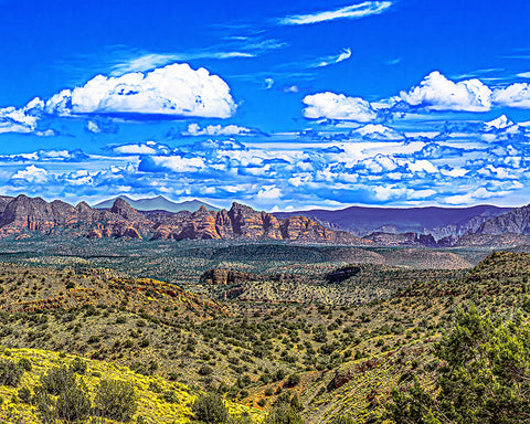 Mount Humphreys Flagstaff and Sedona, Arizona Metal Print