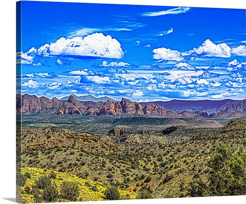 Mount Humphreys Flagstaff and Sedona, Arizona Canvas
