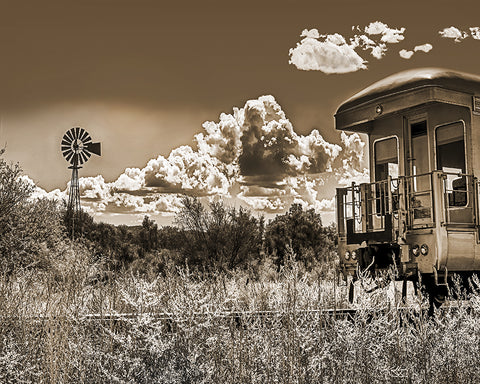 Skull Valley Railroad Metal Print