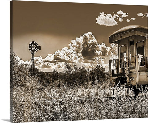 Skull Valley Railroad Canvas