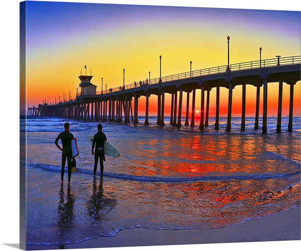 Surf City USA Canvas