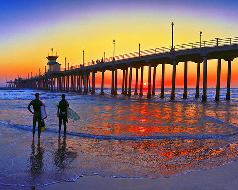 Surf City USA, Huntington Beach Pier, California