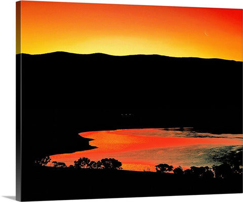 Topaz Lake Dawn Canvas