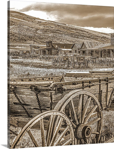 Old Trail Town, Cody, Wyoming Canvas