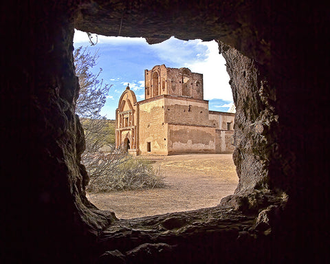 Tumacacori Mission, Arizona Metal Print