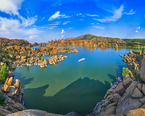 Watson Lake, Prescott, Arizona Standard Art Print