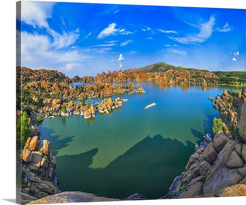 Watson Lake, Prescott, Arizona Canvas