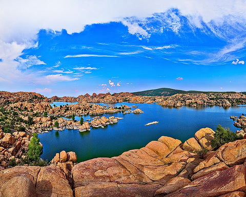 Watson Lake, Prescott, Arizona Metal Print