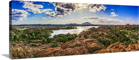 Grand View, Prescott Panoramic Canvas
