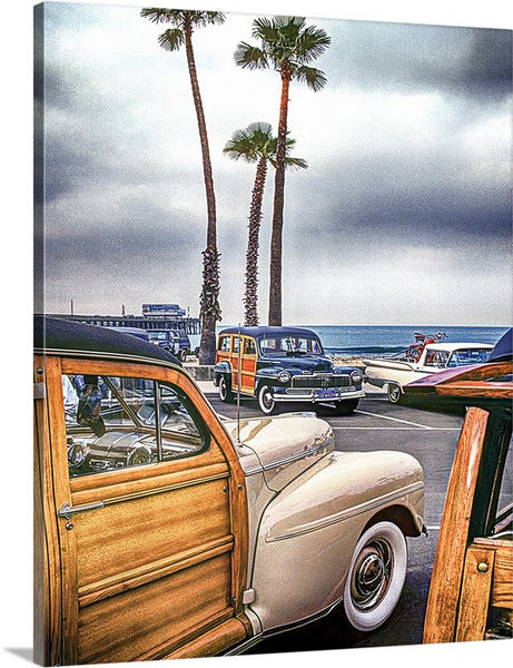 Woody's at the Pier Canvas