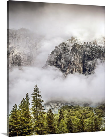 Clearing Storm Yosemite Canvas