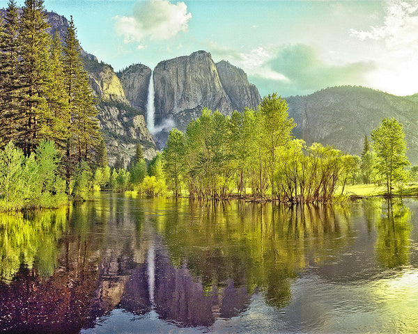 Yosemite Valley, Yosemite National Park, California Standard Art Print