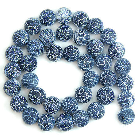 "Lot de 38 perles ""Kîmatî pat'thara"" - 10mm"