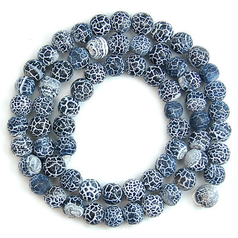 "Lot de 63 perles ""Kîmatî pat'thara"" - 6mm"
