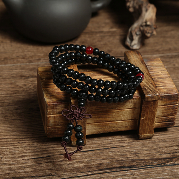 Bracelet / Collier de Méditation Mâlâ - 108 perles - 5 Couleurs disponibles