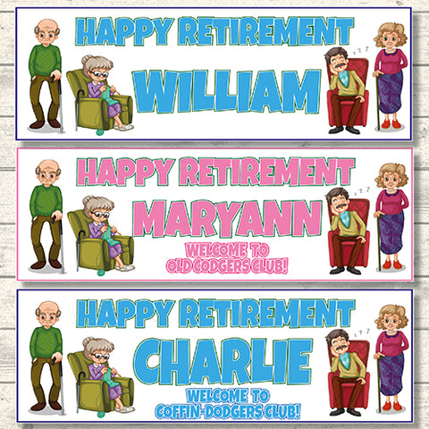 2 personalised only fools and horses birthday banners lovely