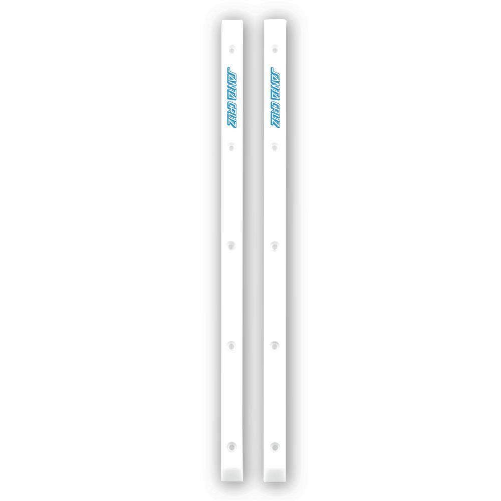 "Santa Cruz ""Cell Block Slimline"" (white) Rails"