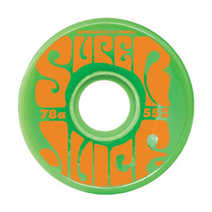 OJ Mini Super Juice 78A (Green) Wheels 55mm