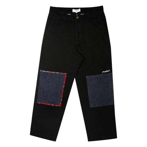Yardsale  Panel Jeans (Black)