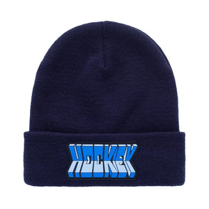 "Hockey Skateboards ""Fold"" Beanie Navy"