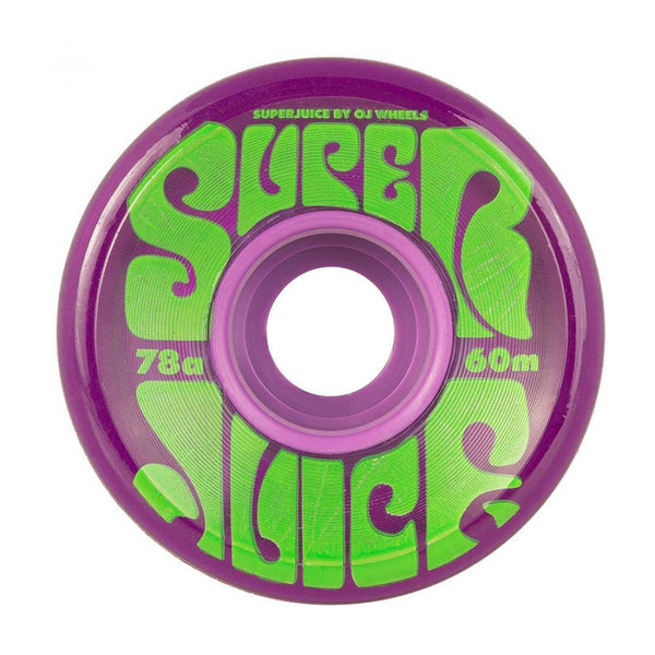 OJ Hot Juice 78a (trans purple) Wheels 60mm