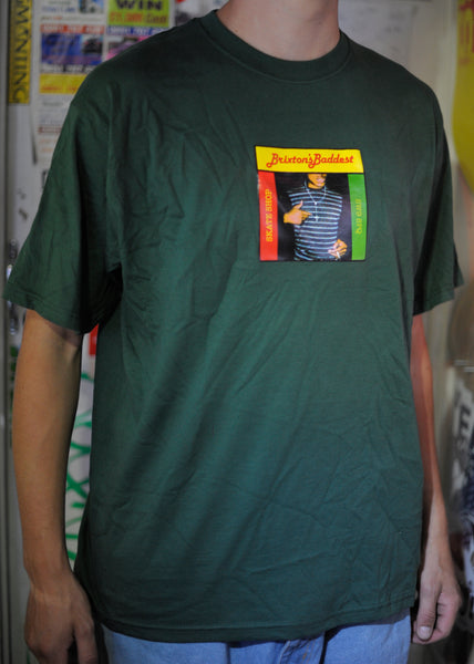 "Brixton's Baddest series III ""Fully Bad"" Green tee"