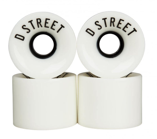 "D Street ""59 Cent 78A"" (white) Skateboard Wheels 59mm"