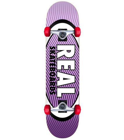 "Real ""Oval Heatwave Mini"" Complete Skateboard 7.3"""