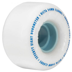 "Ricta ""Clouds"" Wheels 78A White/Blue 52mm"""