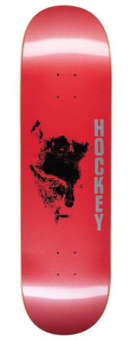 "Hockey ""Chaos - Red"" Skateboard Deck 8.75"""