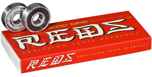 Bones Super Reds 608 Skateboard Bearings