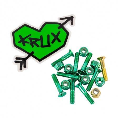 Krux Bolts Krome Phillips Hardware green 1""