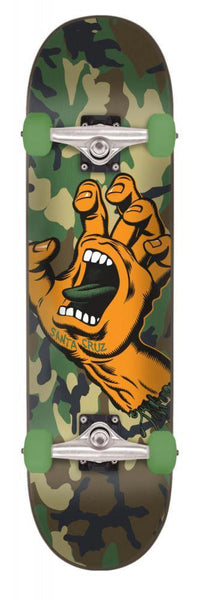 "Santa Cruz ""Screaming Hand Camo"" Complete Skateboard 6.75"""