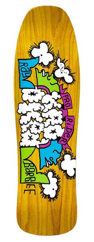 "Krooked ""Ray Barbee Clouds"" Skateboard Deck 9.5"""