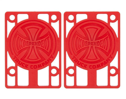 Indy Riser Pads (red) 1/8""