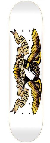 "Anti Hero ""Classic Eagle XXL"" (white) Skateboard Deck 8.75"""