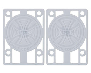 Indy Riser Pads (white) 1/8""