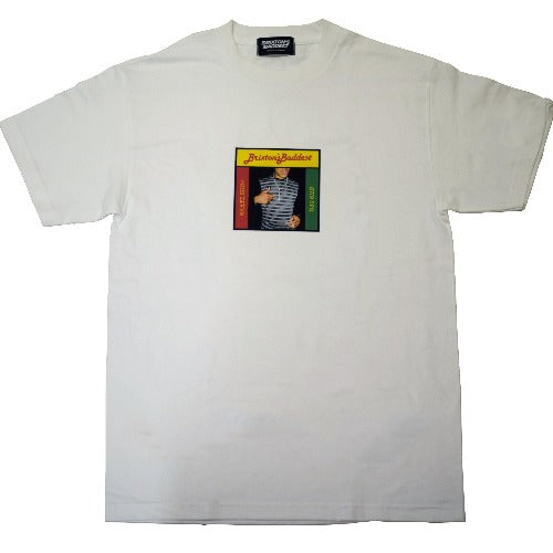 "Brixton's Baddest series IV ""Fully Bad"" tee (white)"