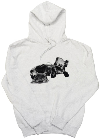 "Brixton's Baddest ""The Smokers: James Dean Car Crash"" Hoodie"