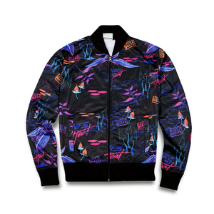 "Life's a Beach x Need of Speed ""Psyche Tropic"" Track Top"