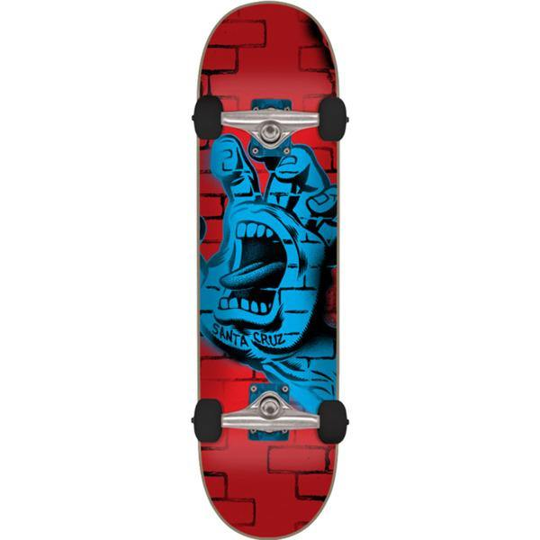 "Santa Cruz ""Spray Hand"" Mini Complete Skateboard 6.75"""