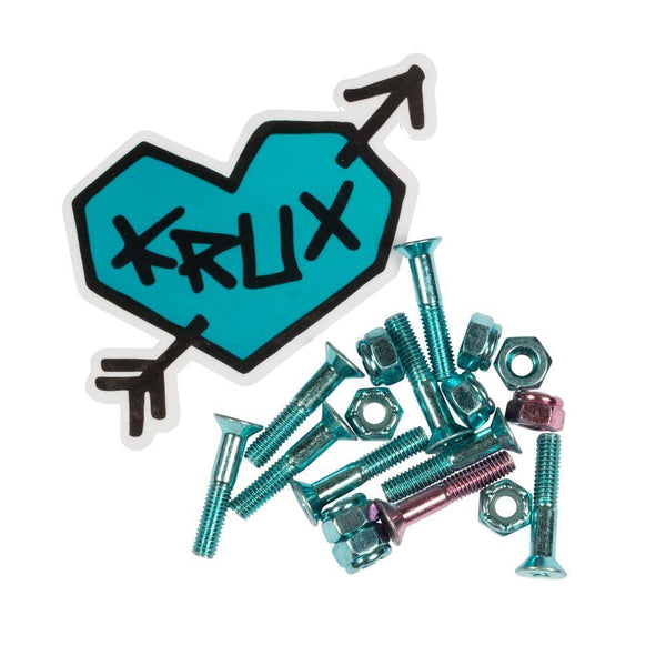 Krux Bolts Krome Phillips Hardware Blue 1""