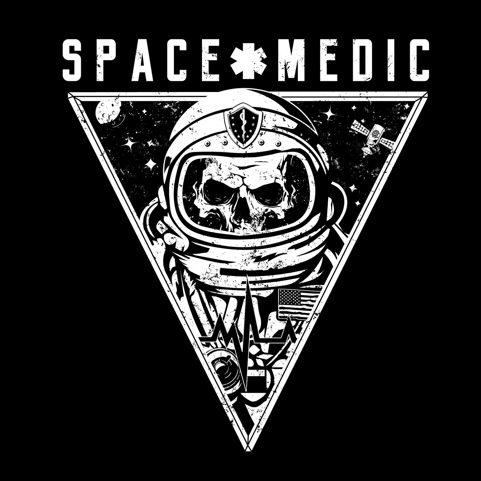 Space Medic - Black Cloud Apparel