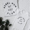 Personalised Rebel Club Mum And Baby Set Baby Paper and Wool
