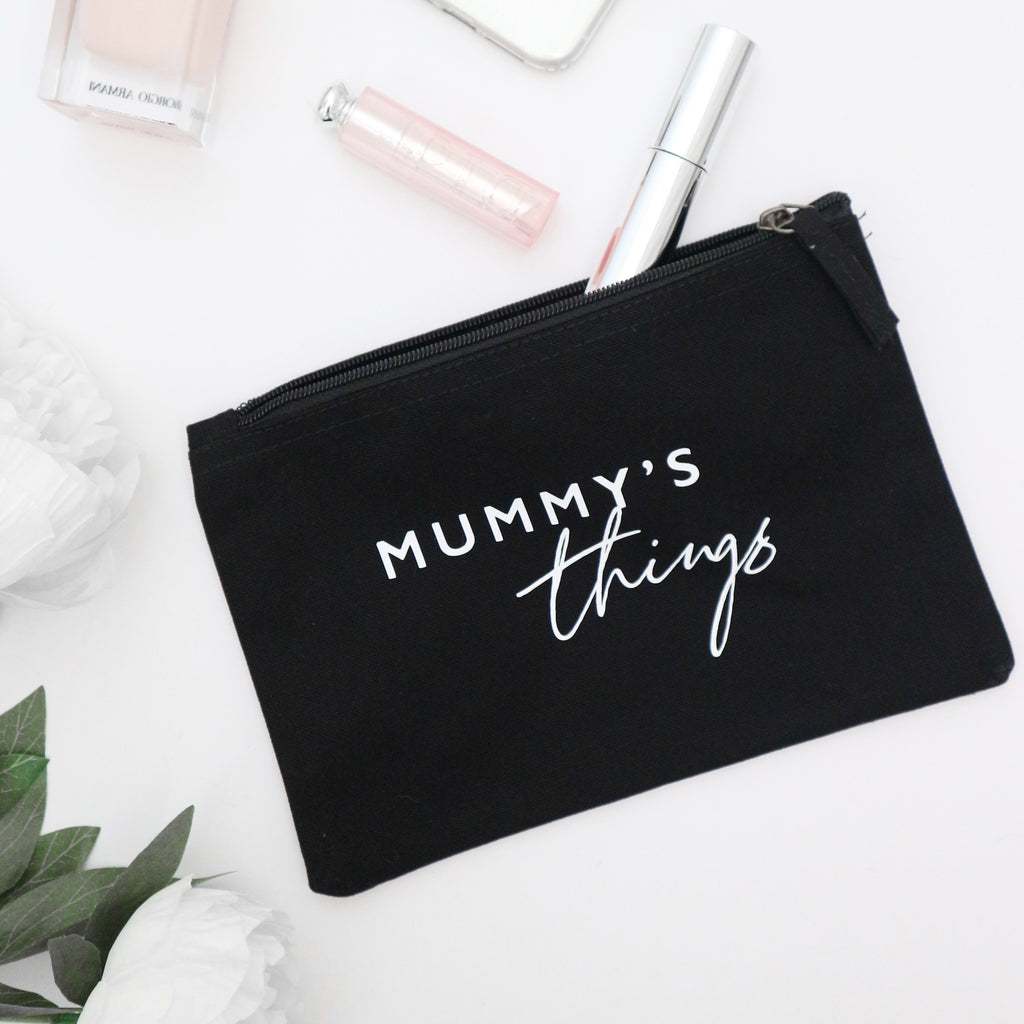 Mummy / Daddy's things baby changing bag pouch Baby Paper and Wool