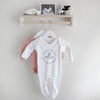 Personalised welcome to the world baby grow Baby Paper and Wool