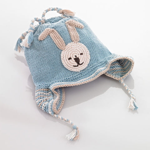 Blue Bunny Hat Crochet