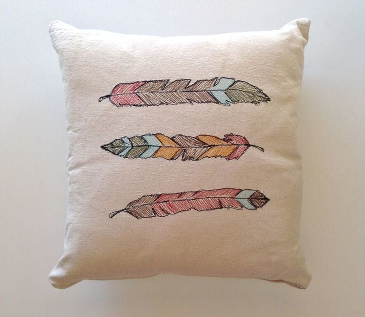 BedStraw Feathers Pillow